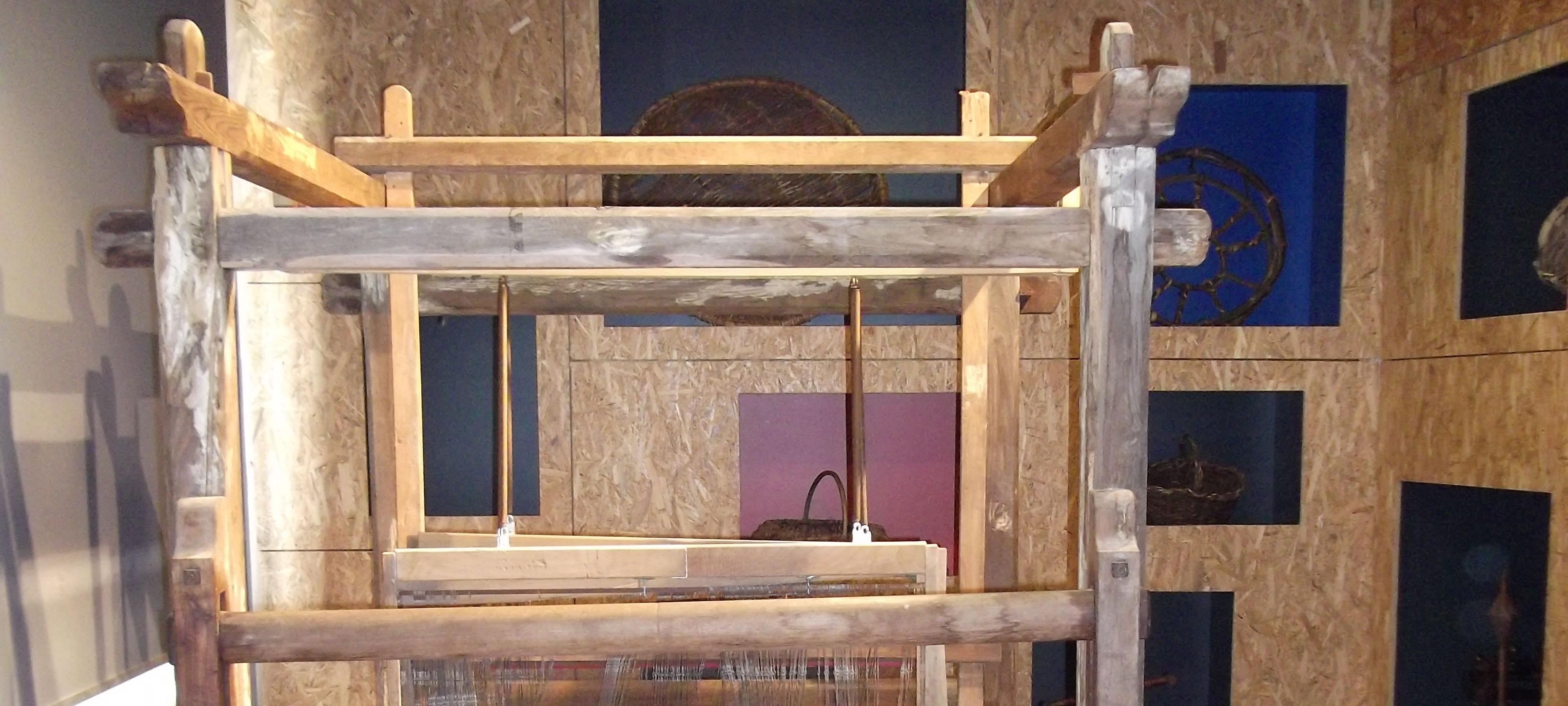 Sala dell'intreccio e della tessitura